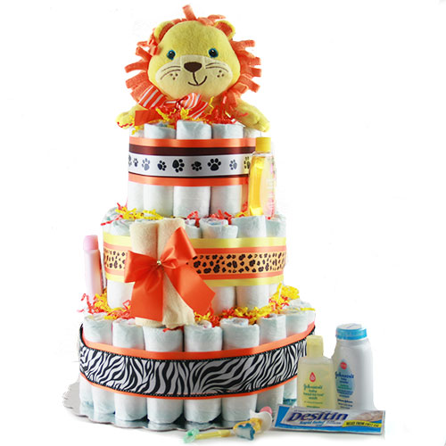 Mane Attraction Diaper Cake