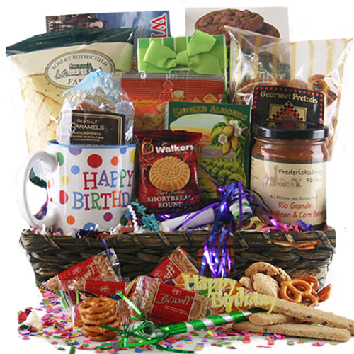 And Many More Birthday Gift Baskets