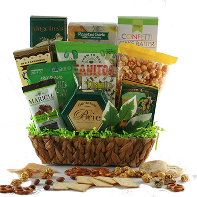 Many Thanks Thank You Gift Basket