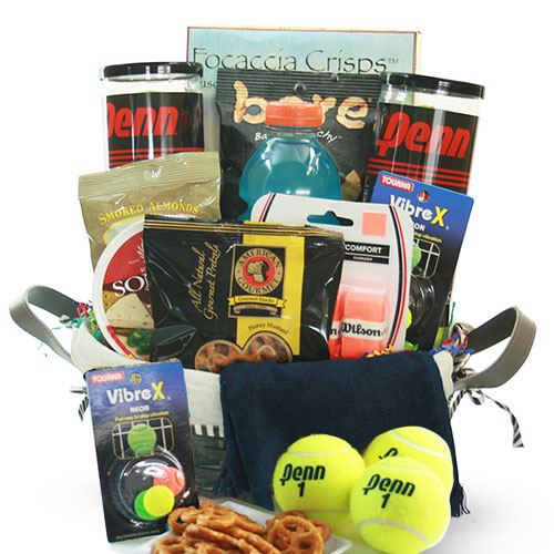 Add In Tennis Gift Basket