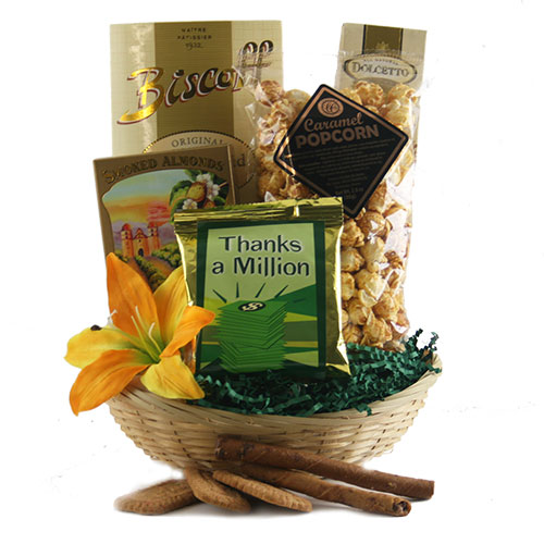 More than Words Thank You Gift Basket
