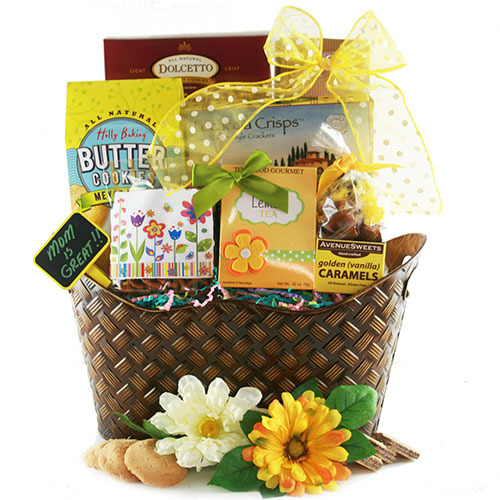 Mothers Day Gourmet Mothers Day Gift Basket