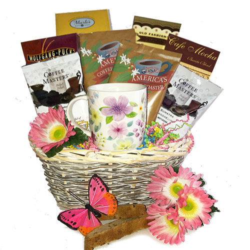 Mothers Day Coffee Gift Baskets