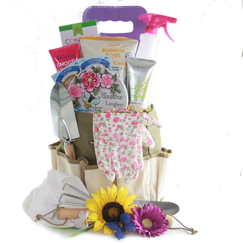 A Mothers Work is Never Done Mothers Day Pamper Basket