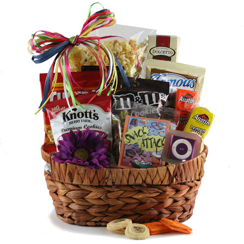 Munchie Melodies Ipod Gift Basket