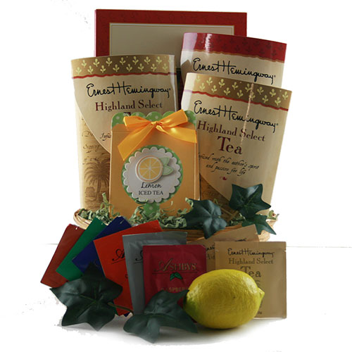 Nothing But Tea Tea Gift Basket