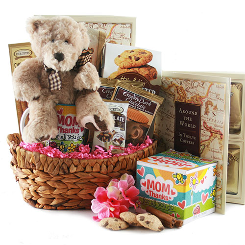 Number 1 Mom Mothers Day Gift Basket