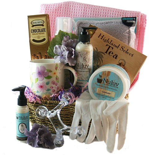 Oasis for Her Spa Gift Basket