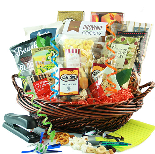 Office Party Snack Gift Basket