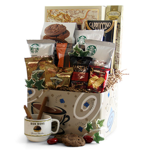 On the Go Coffee Gift Basket
