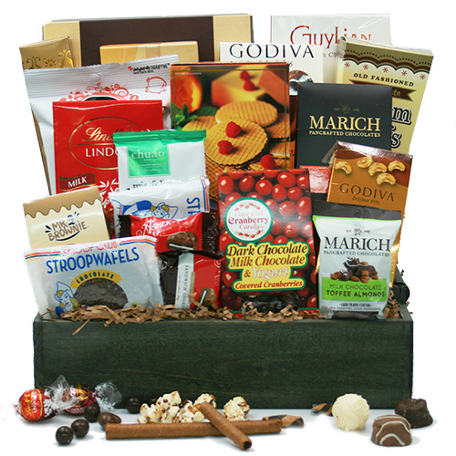 Over the top Chocolate! Chocolate Gift Basket