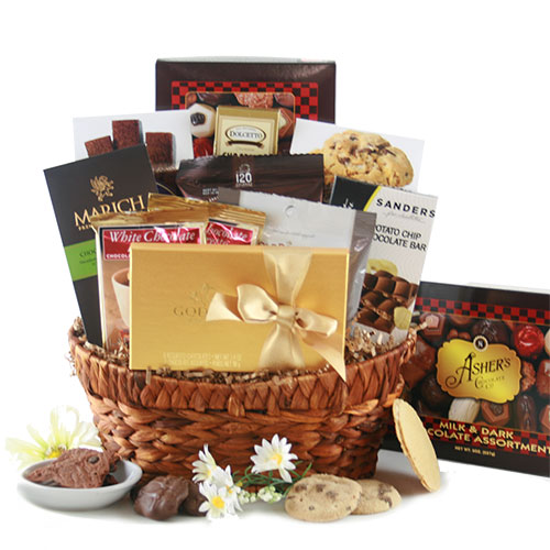 Chocolate Overload Chocolate Gift Basket