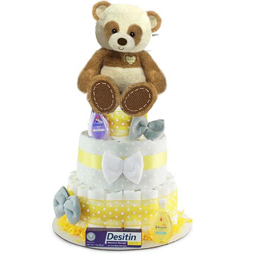Panda Mania Diaper Cake