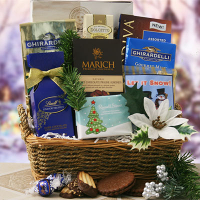Polar Freeze Holiday Gift Basket
