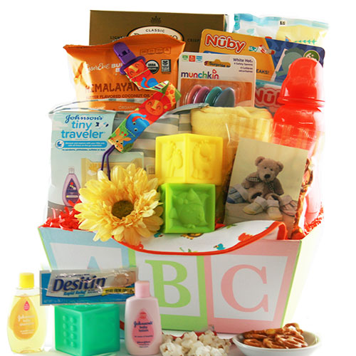 Precious Baby Gift Basket