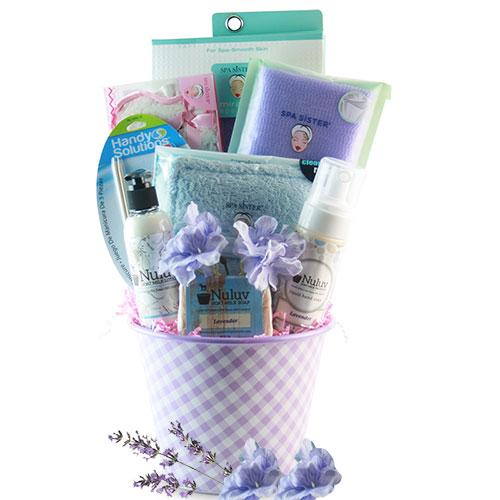 Purple with Envy Spa Pamper Basket