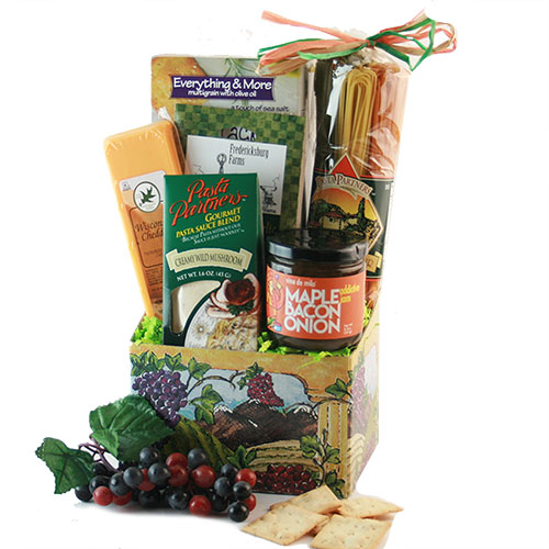 Que Bella Italian Gift Basket