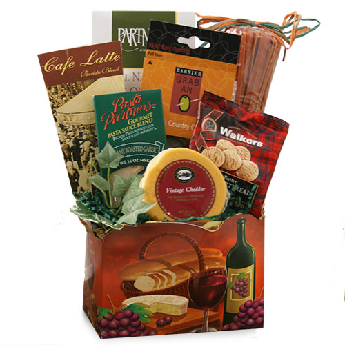 A Quick Meal Food Gift Basket