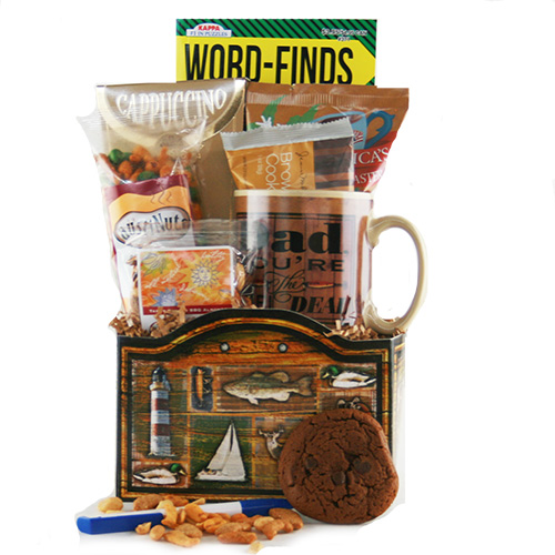 The Reel Deal Fathers Day Fishing Basket