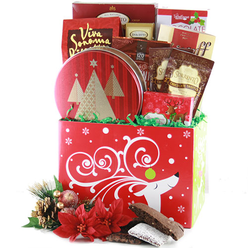 Reindeer Games Christmas Gift Basket