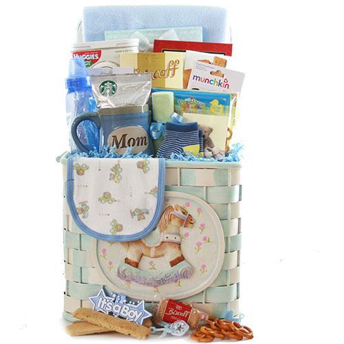 Rockin New Baby Gift Basket Baby Gift Basket