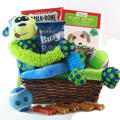 Ruff Day Pet Gift Basket Dog