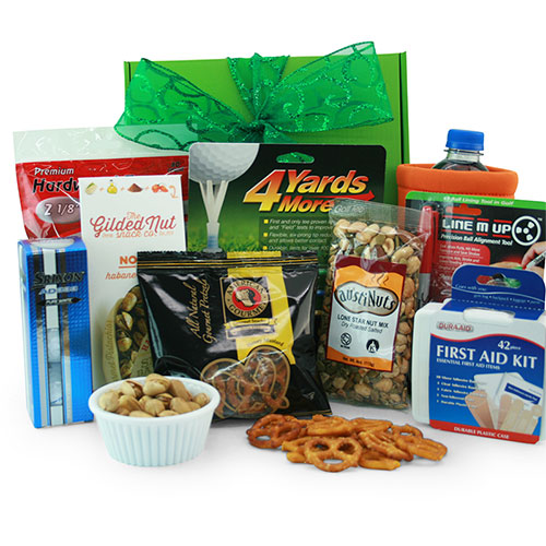Score Low! Golf Gift Basket