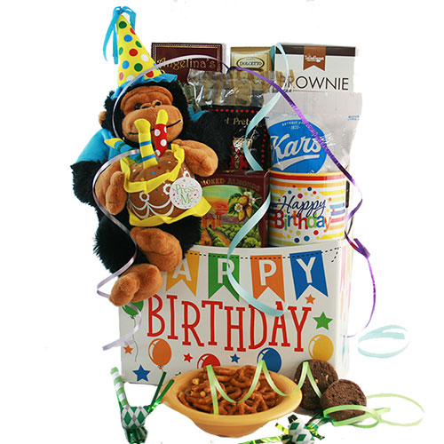 Birthday Seranade Birthday Gift Basket