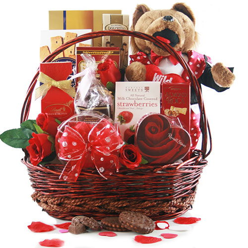 Shakespheres Delight Valentines Day Gift Basket