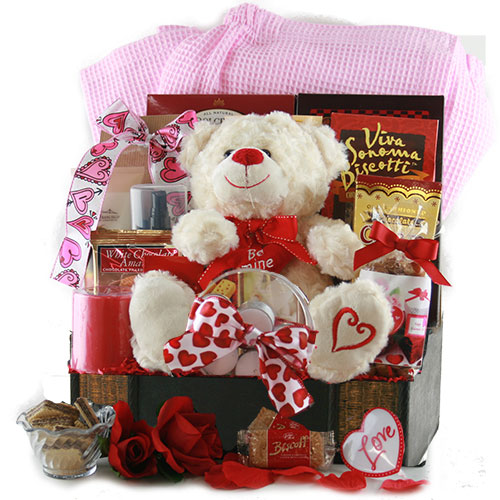Shakespeares Sweets Valentines Day Gift Basket