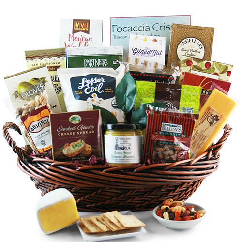 Retirement gift baskets retirement gifts for women men diygb the showstopper food gift basket solutioingenieria Gallery