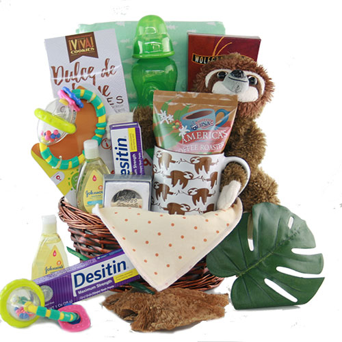 Hangin with Mommy Baby Gift Basket
