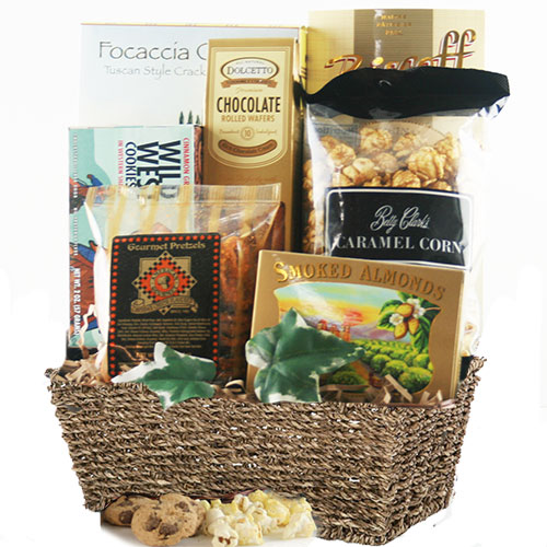 Snack Delight Snack Gift Basket