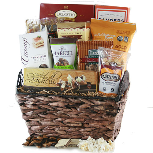 Chocolate Snack Inspirations Chocolate Gift Basket