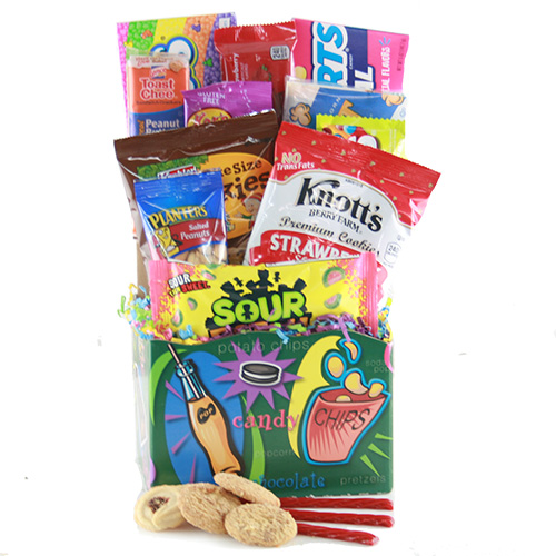 Snacktastic Snack Gift Basket