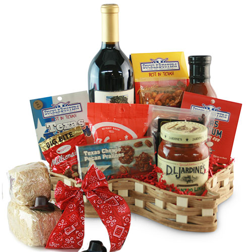 Christmas wine gift baskets diygb south texas hill country wine gift basket solutioingenieria Image collections