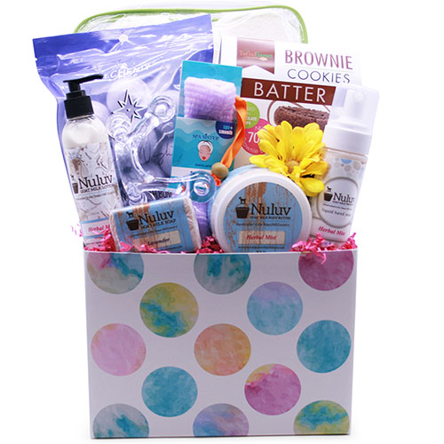 Gift baskets by design it yourself gift baskets spa bliss spa wine gift basket solutioingenieria Choice Image