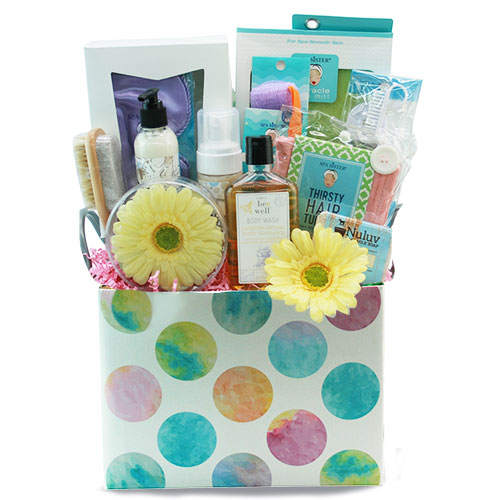Med Spa Gift Basket SPABOX
