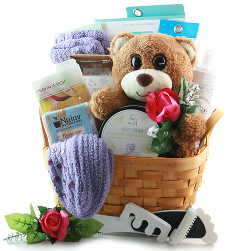 Spa Retreat Spa Gift Basket