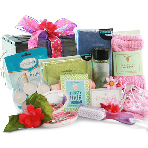 Spa Treasures Spa Gift Basket