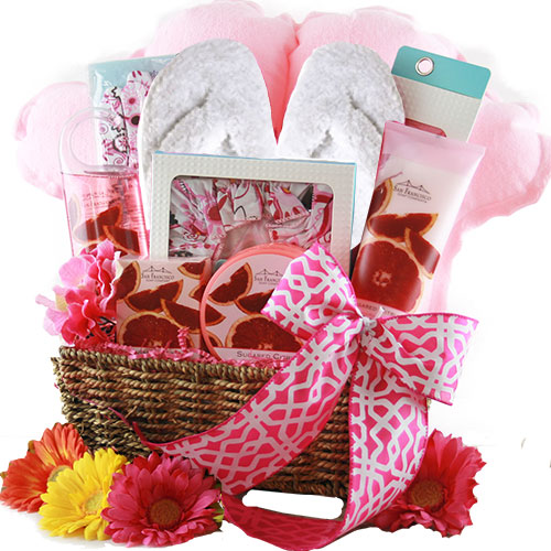 Special Day Spa Gift Basket