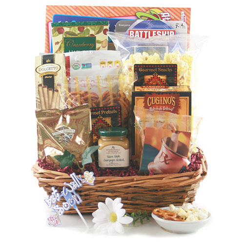Speedy Recovery Get Well Gift Basket