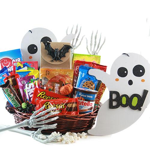 Spooky Sweets Halloween Gift Basket