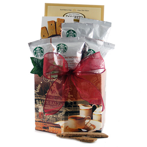 Starbucks in the Morning Starbucks Gift Basket