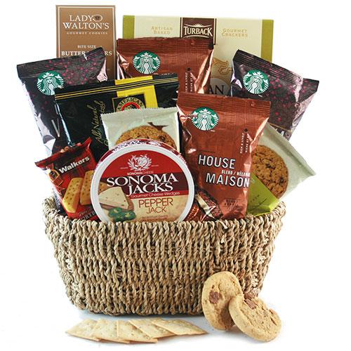 Starbucks Sensation Starbucks Gift Basket OUT OF STOCK