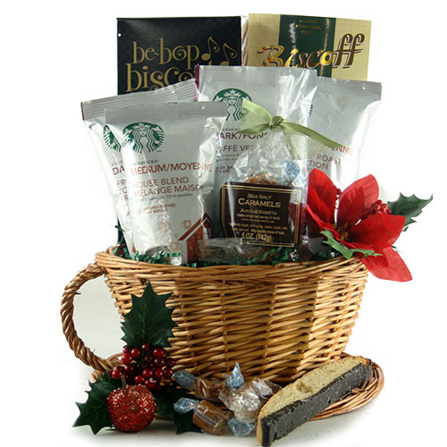 Starbucks Christmas Starbucks Gift Basket