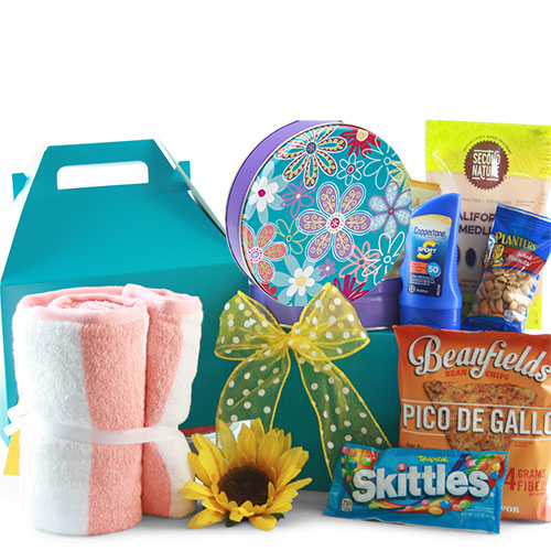 Sun Goddess Summer Gift Basket