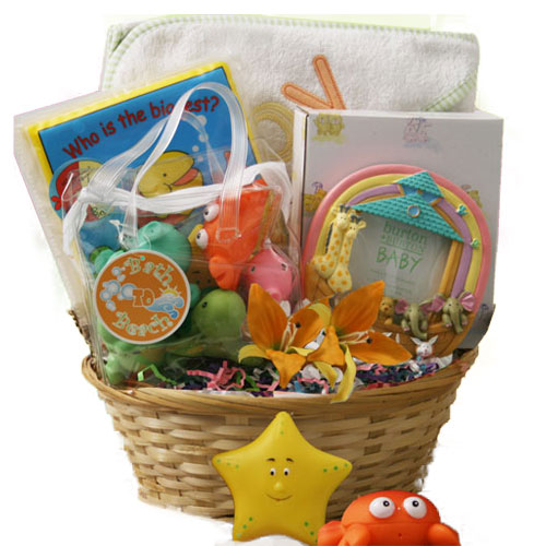 Sunshine Baby Gift Basket