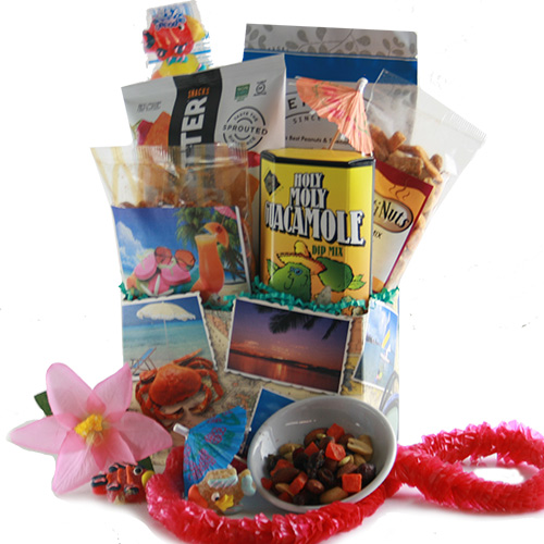 Surfs Up Beach Gift Basket