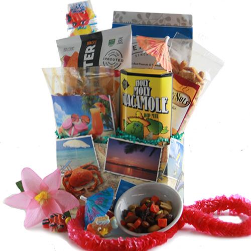 Summer gifts beach gift baskets fun summer gift baskets diygb surfs up beach gift basket solutioingenieria Images